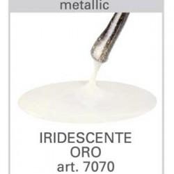 Smalto gel Iridescente oro