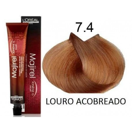 Loreal Excellence Creme 743 Dark Copper Blonde Hair Of