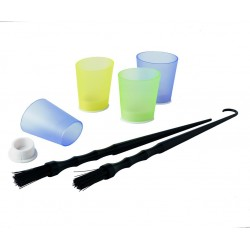 FLASH POT PLASTICA (12PZ + 2 PENNELLI)