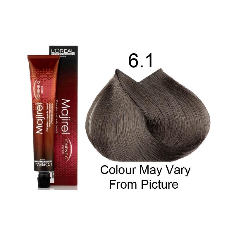 L 39 oreal colore majirel biondo scuro 6 1 target hair professional - Bagno di colore l oreal ...