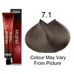 L'oreal colore majirel biondo cenere 7.1