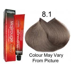 L'oreal colore majirel biondo cenere lucente 8.1