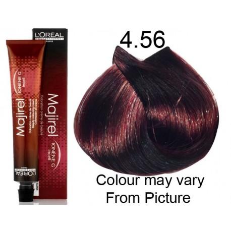 Loreal Majirel 456 Castano Mogano Rosso Target Hair Professional