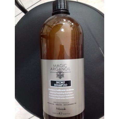 Maxima nook shampoo curl & fizz 250 ml.
