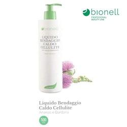 Liquido Bendaggio Caldo per trattamento cellulite 500 ml Bionell